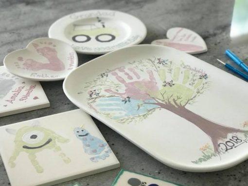 painted peppermint ceramics