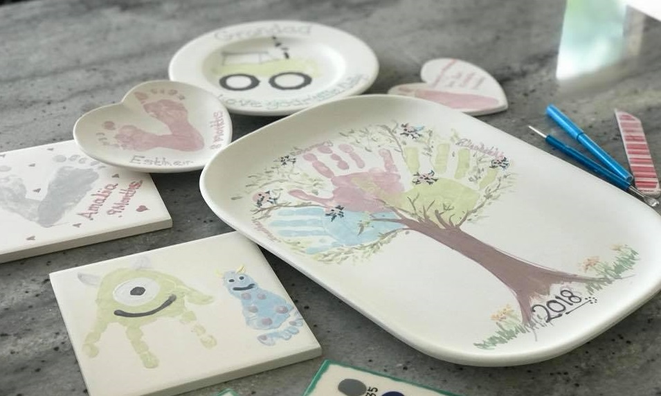 Painted Peppermint Ceramics – Thursday 26th July, Wednesday 8th August & Wednesday 29th August