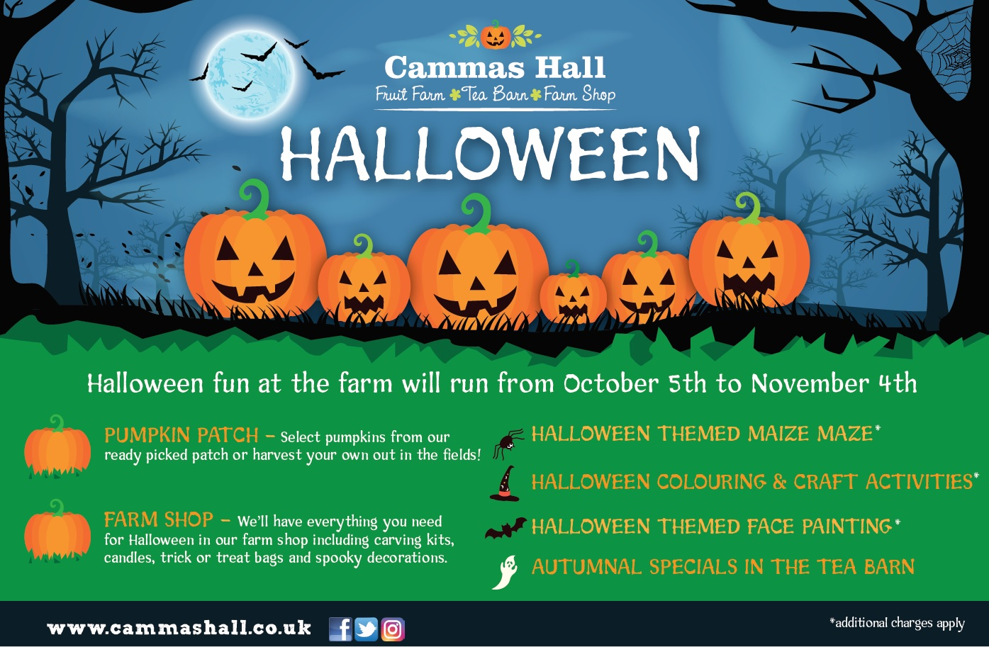 halloween | cammas hall