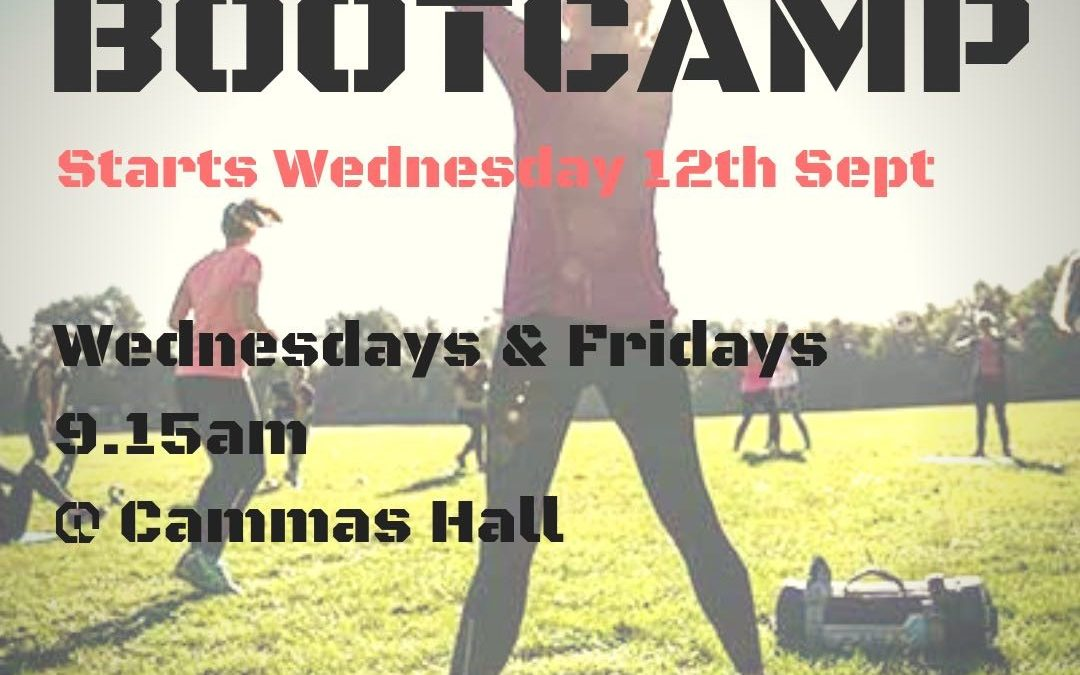 Bootcamp – Each Wednesday and Friday at 9.15am until 12th October