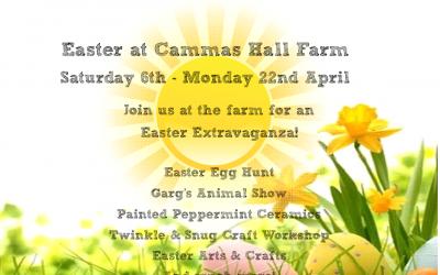 Easter at Cammas Hall Fruit Farm