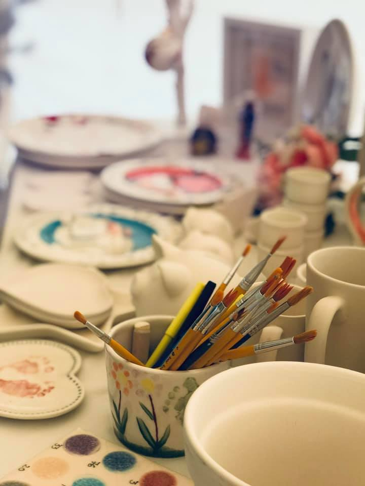 Painted Peppermint - Summer Holiday Pottery