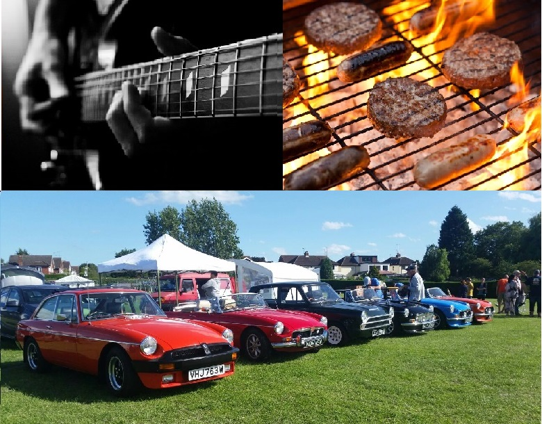 Live Folk Music, MG Owners Club Meet & BBQ