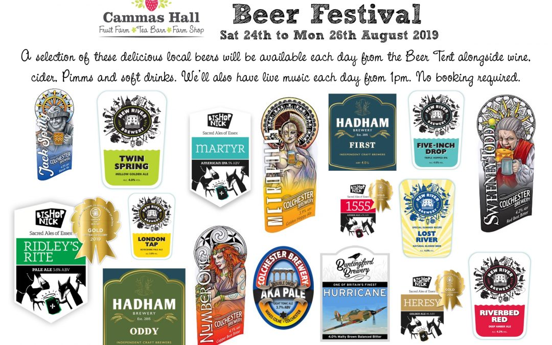 Bank Holiday Weekend – Beer Festival, PYO, Maize Maze & More!