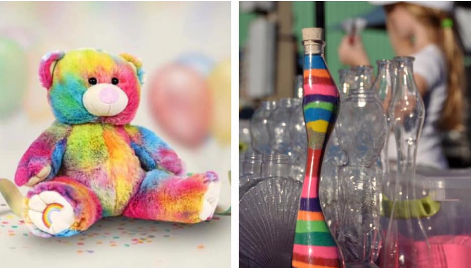 Twinkle & Snug: create a bear and sand-art drop-in workshop
