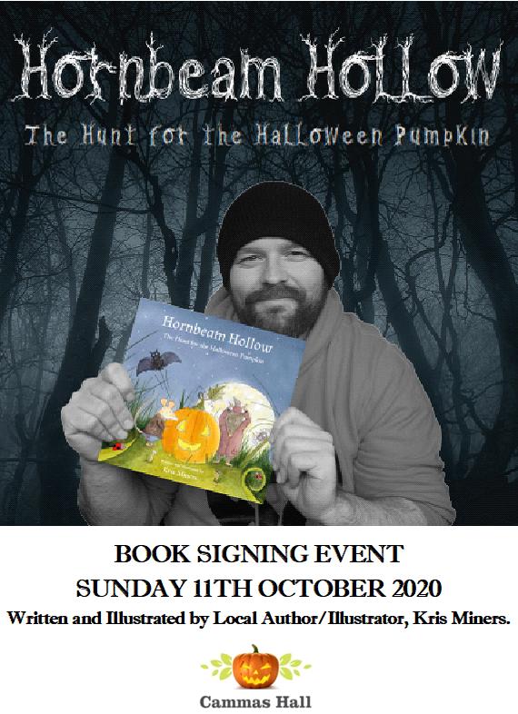 Kris Miners 'Hornbeam Hollow' Book Signing