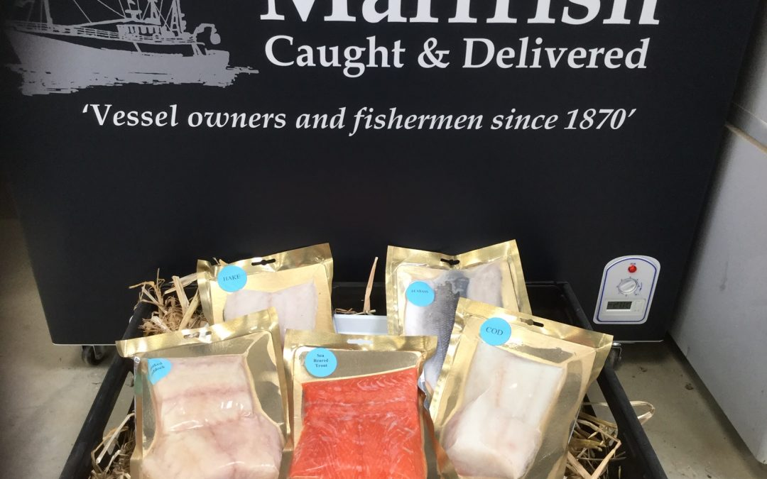 Marrfish British fish now available in our farm shop! 🐟