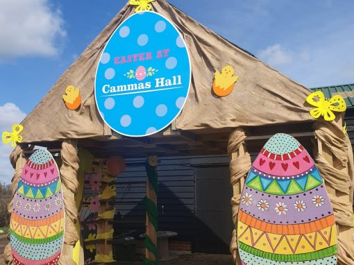 Easter Trail at Cammas Hall