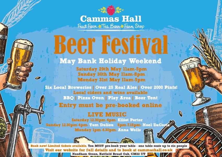 Beer Festival at Cammas Hall Farm