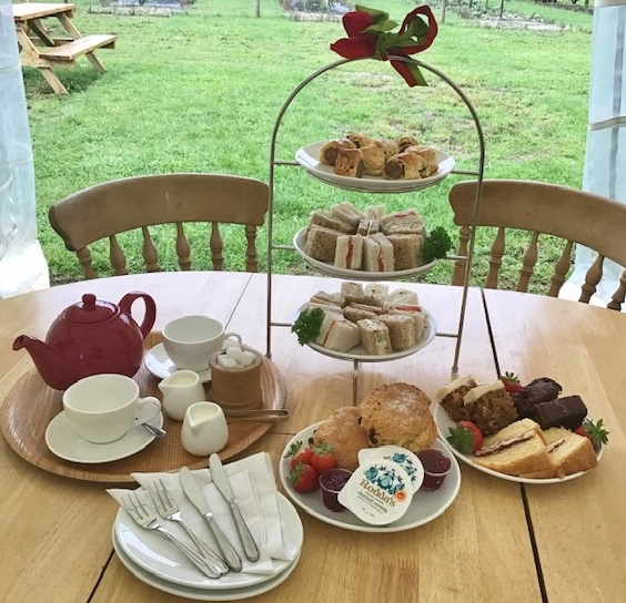 We now offer Afternoon Tea at the farm – but where did it originate?