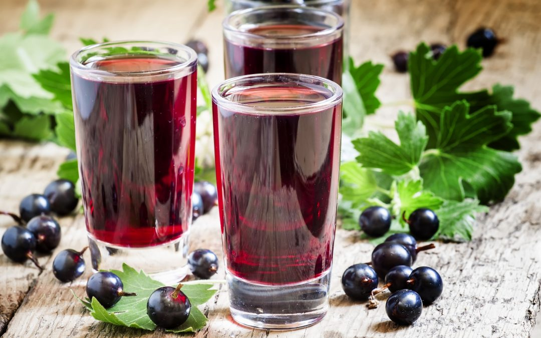 Why not make your own blackcurrant cordial this summer?